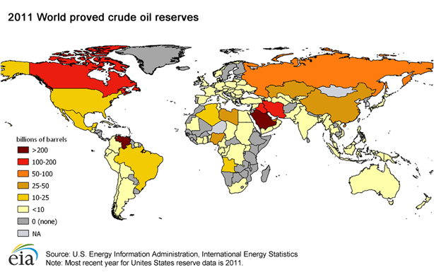 World_proved_crude-Oil_reserves